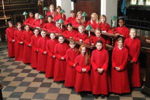 pieśni religijne w wykonaniu chóru