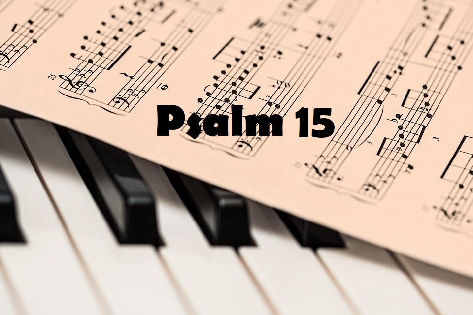 psalm 15 tekst