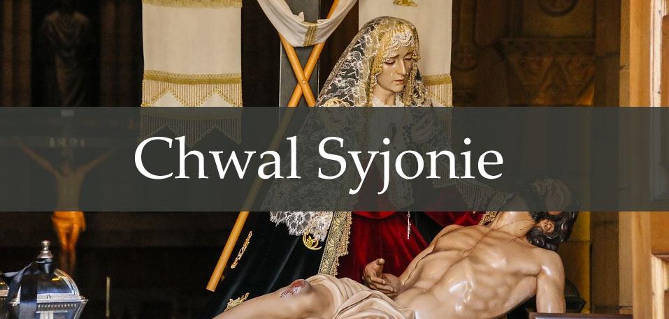 Chwal Syjonie