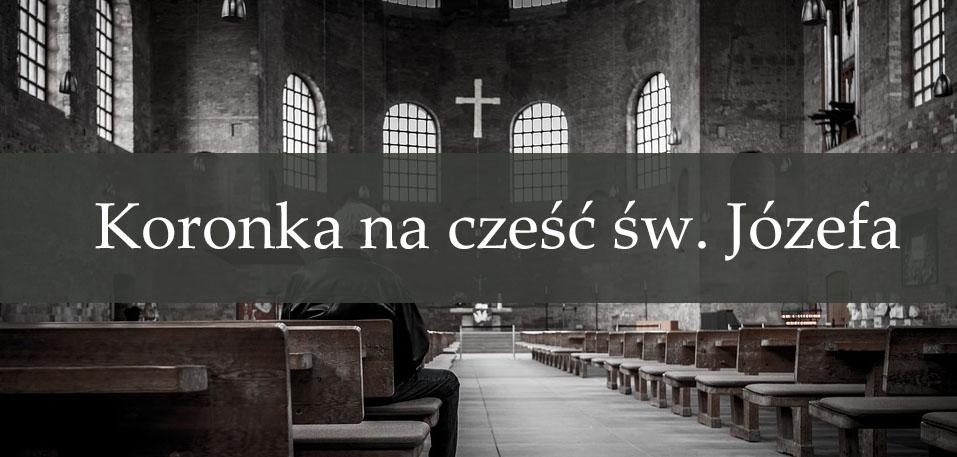 Koronka na cześć św. Józefa