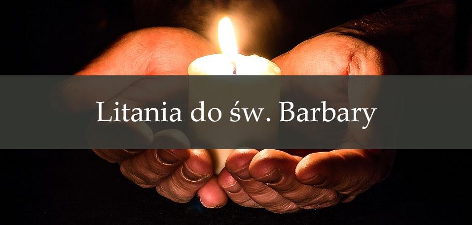 Litania do św. Barbary