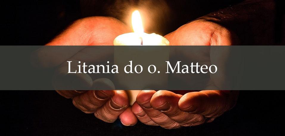 Litania do o. Matteo