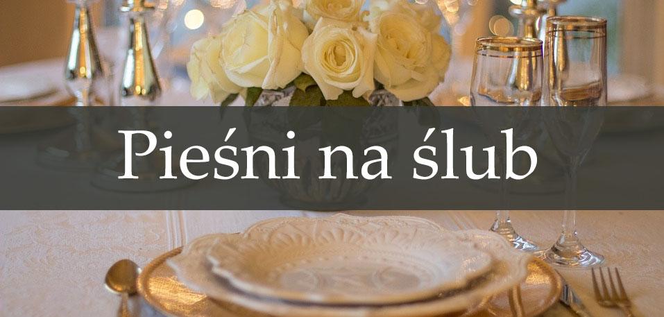 pieśni na ślub