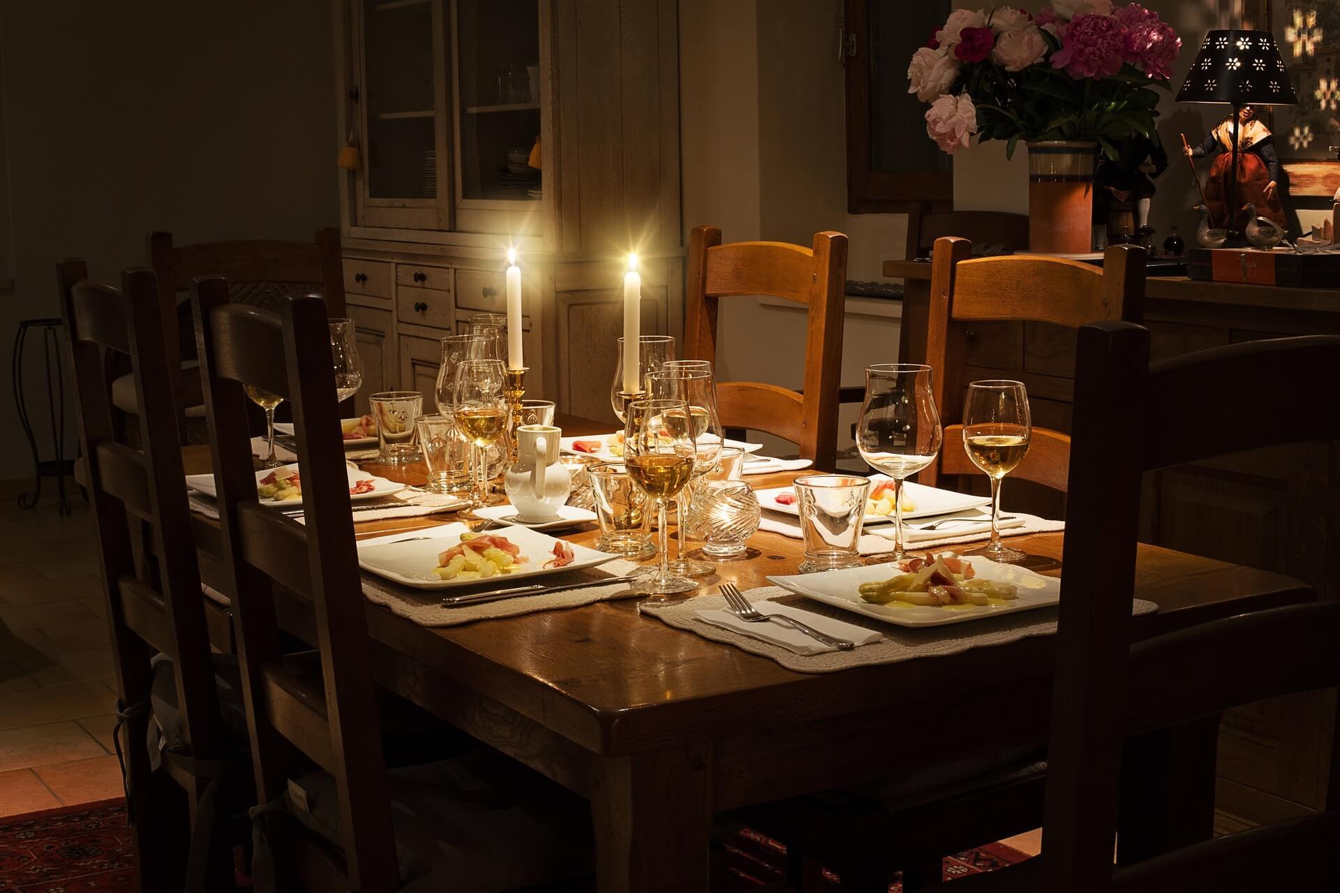 uroczysta kolacja wigilijna